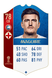 fut 18 world cup angleterre maguire