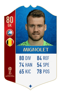 fut 18 world cup mignolet