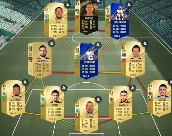 fut 18 solution dce kompany domination avec son club