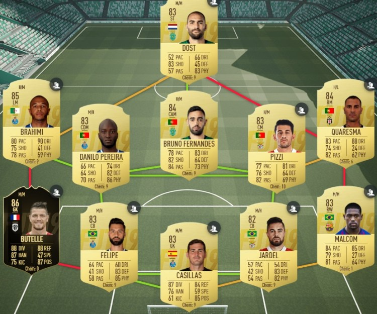 fut19 solution dce lenglet tots la liga