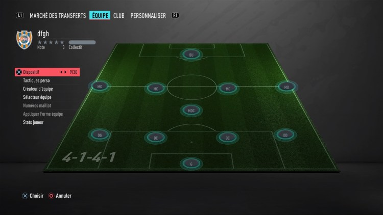 fut 20 guide des formations 4-1-4-1