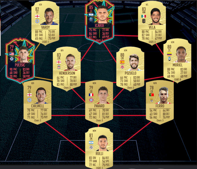 FUT 20 - Prediction TOTW 7