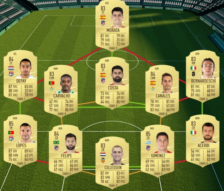 fut 20 solution dce willian ucl live bresil