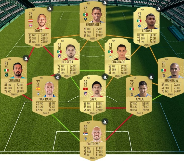 fut 20 solution dce real madrid atletico