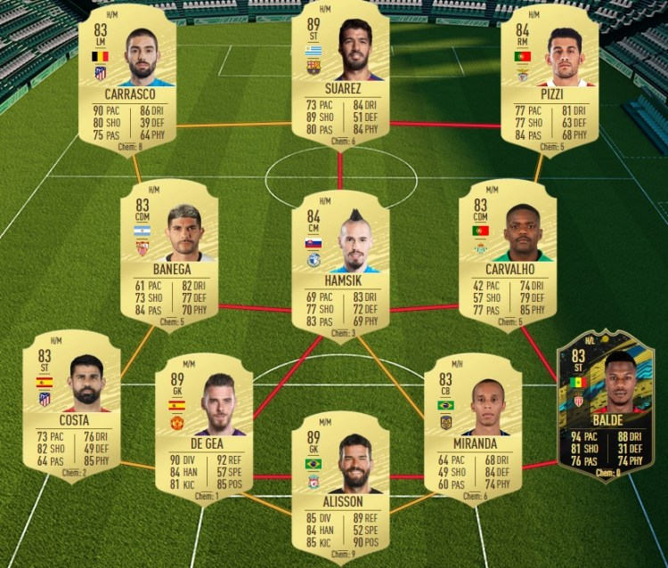 fut 20 solution dce icone moyenne equipe 86