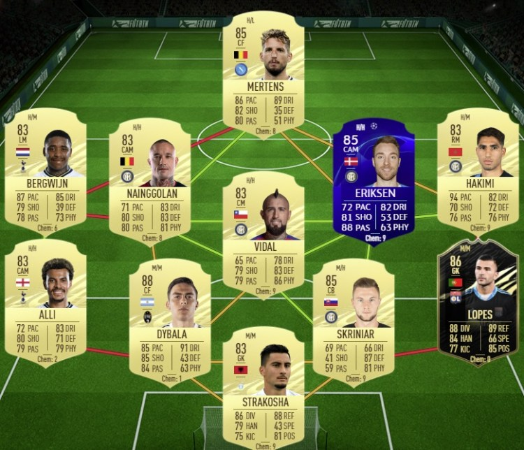 fut 21 solution dce wan-bissaka freeze selection nationale