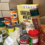 Pre-packaged food pantry bag