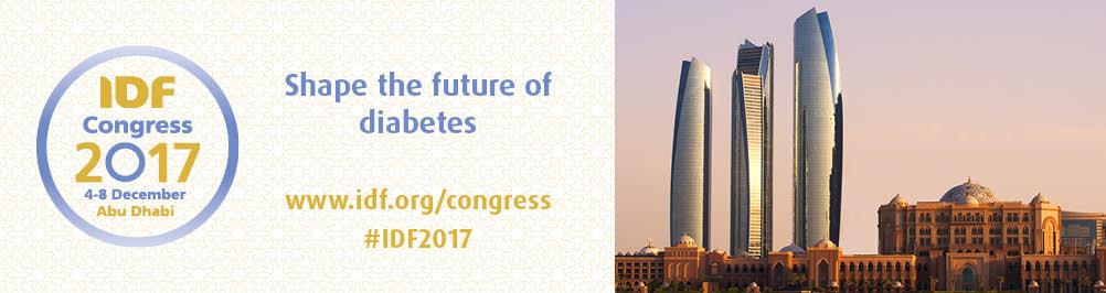 Congreso Mundial de Diabetes IDF.