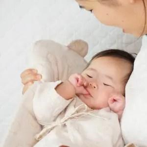 トッポンチーノでスヤスヤ眠ってくれます