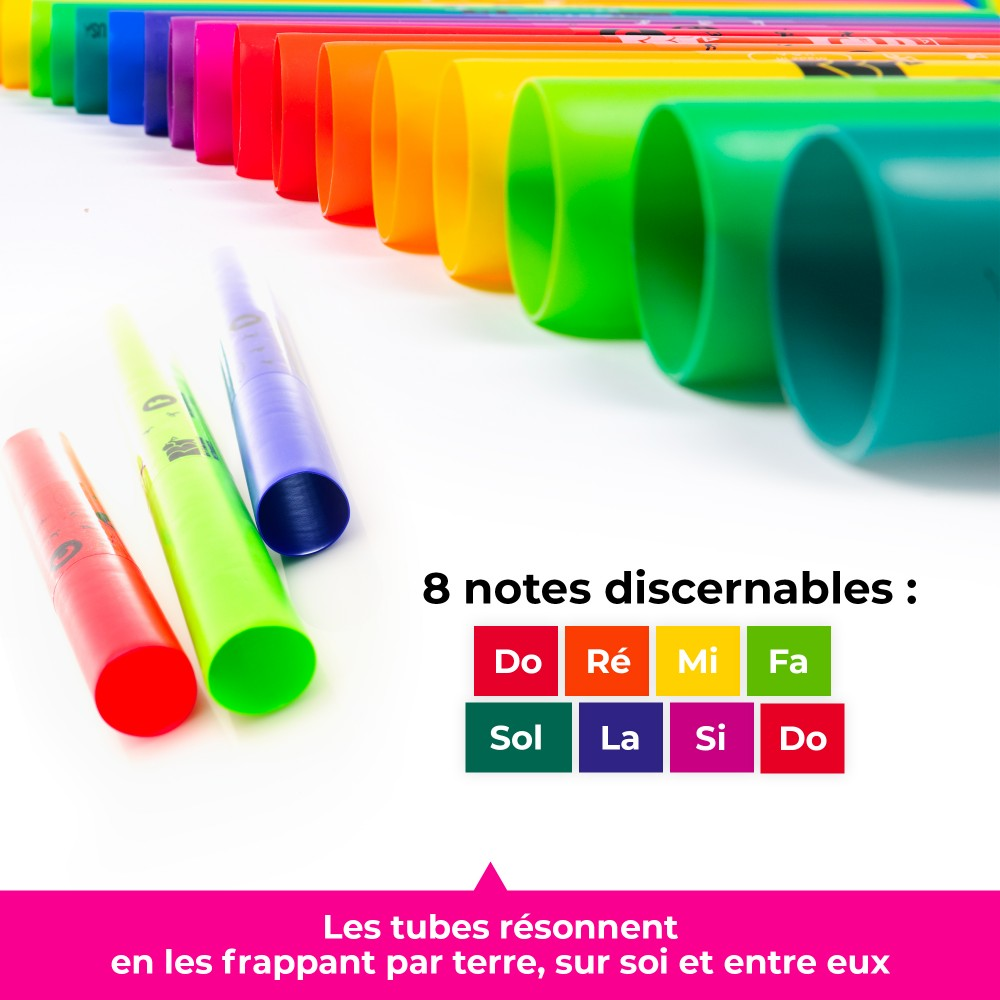 Fuzeau 3460 Boomwhackers Alto Diatonic 8 Note Musical Instruments Dj Hand Percussion Mosslounge Club