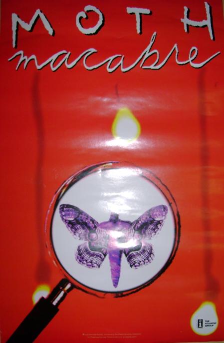 Moth Macabre Poster