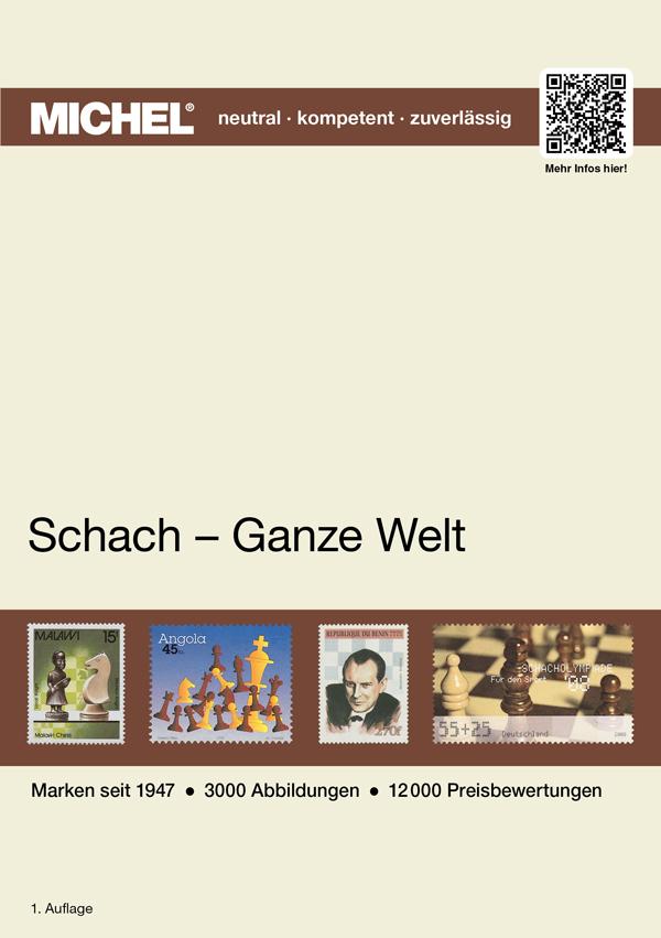 Schaken schach postzegels michel catalogus