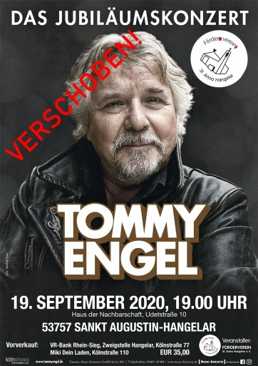 Tommy Engel in Hangelar