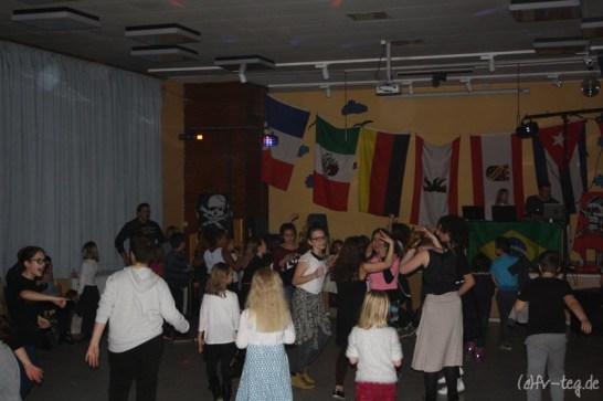 Die Kinder hatten mal wieder sehr viel Spaß beim Tanzen!