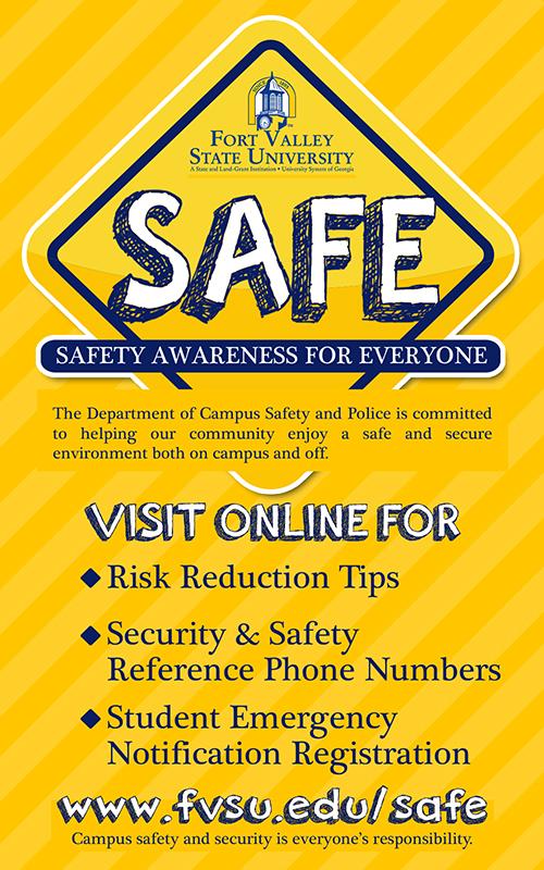 FVSU SAFE Tips April 27-May1