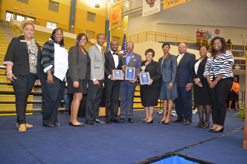 FVSU recognizes outstanding Wildcat Students at Honors Convocation