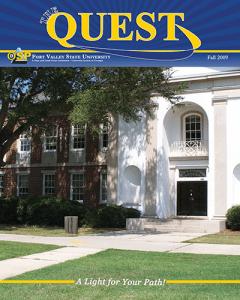 The Quest Magazine cover 2009
