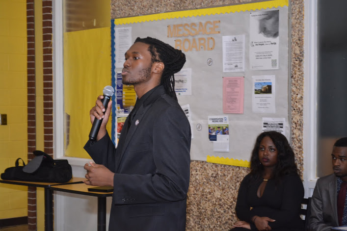 Student sings at 120th Anniversary Celebration