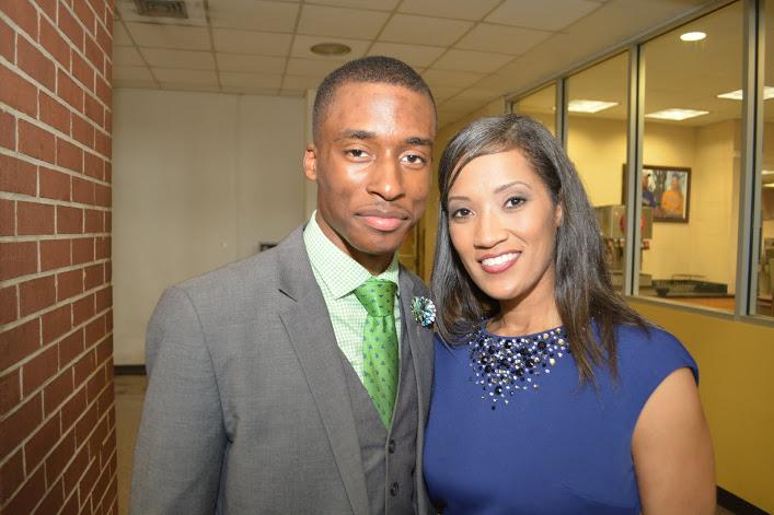 Dr. Marcie Hunt Harris and Elijah Porter.