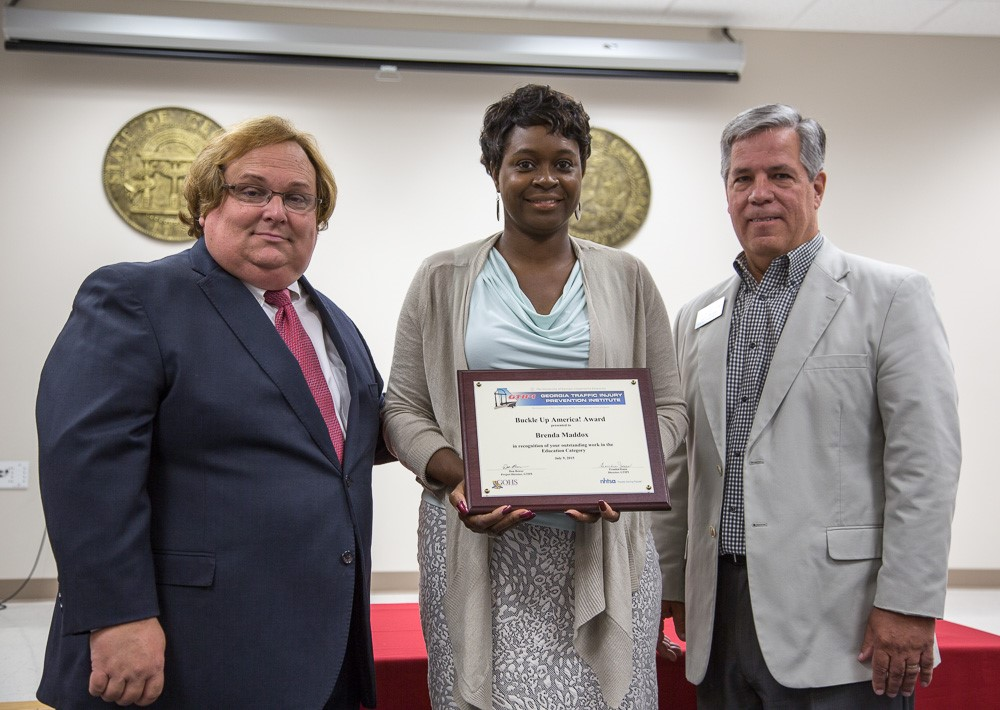County agent earns award from the Georgia Traffic Injury Prevention Institute