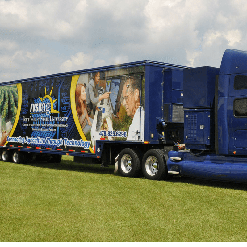 Mobile unit provides site for record keeping training