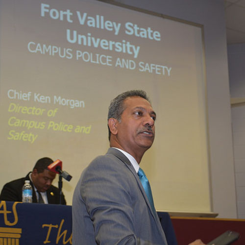Fort Valley State University holds policing and race forum