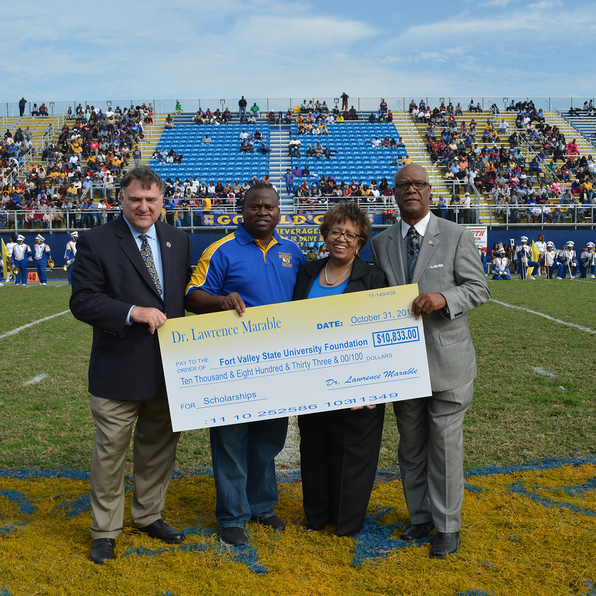 FVSU donors give big dollars to support institution