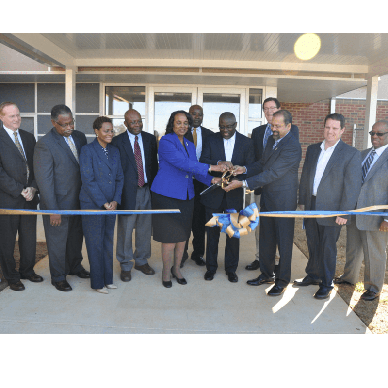 College of Agriculture holds official ribbon cutting for family development complex