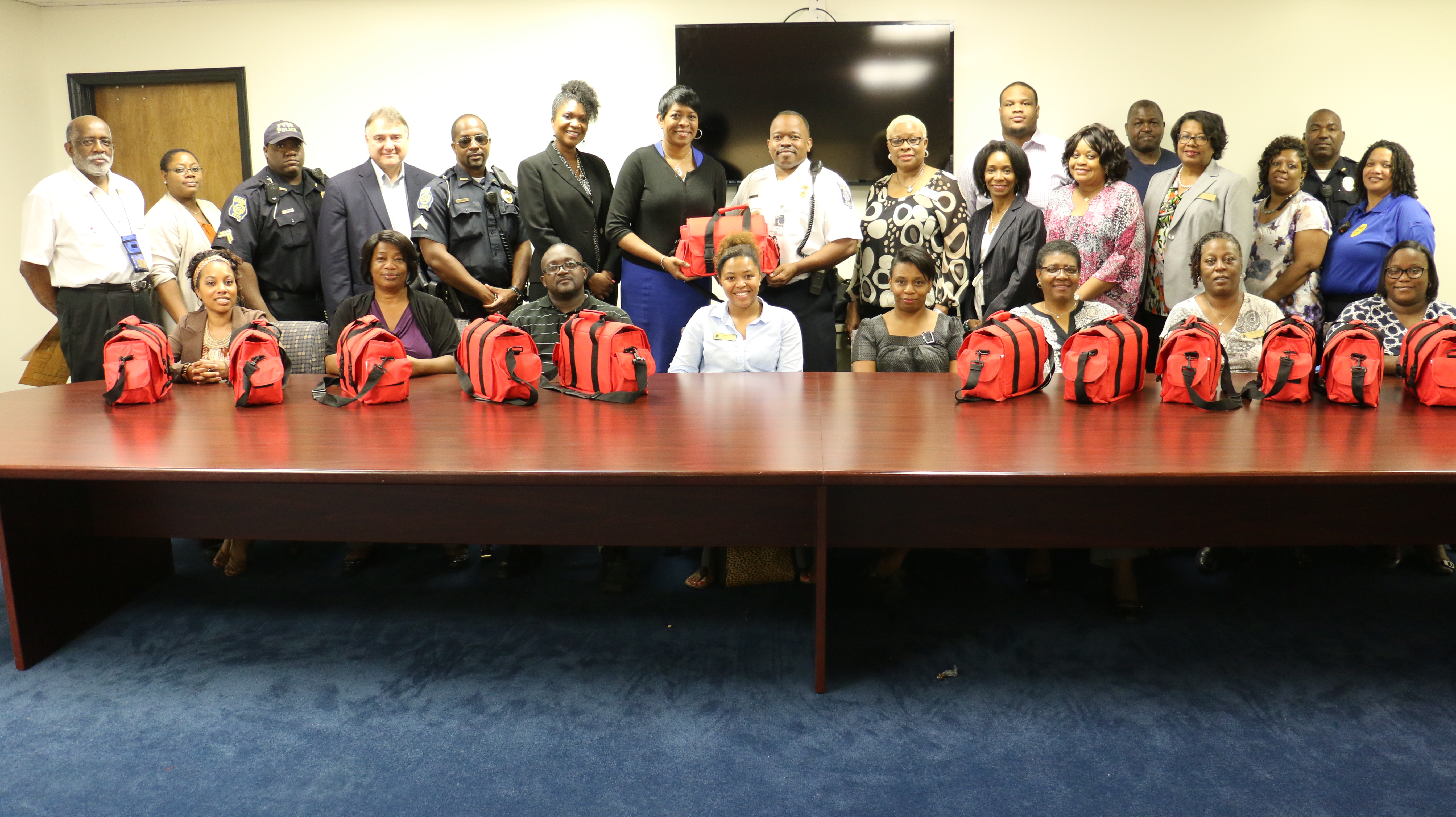 FVSU external affairs raises funds for first-responder kits