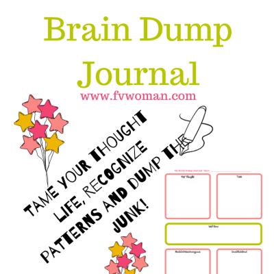 DIY Brain Dump Journal