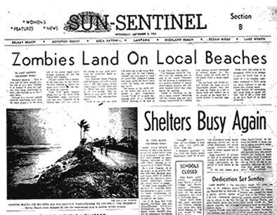 zombie headline