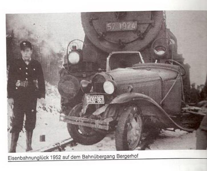 Eisenbahnunglück 1952