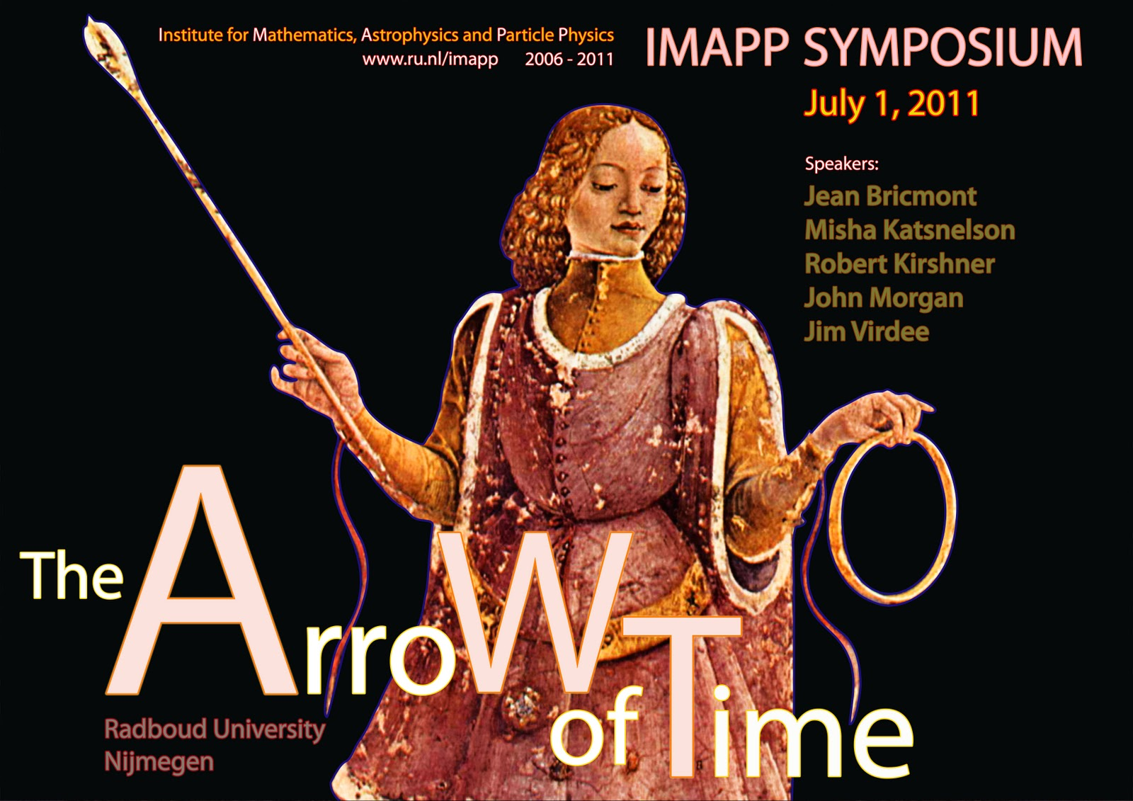 arrow of time, frank waaldijk