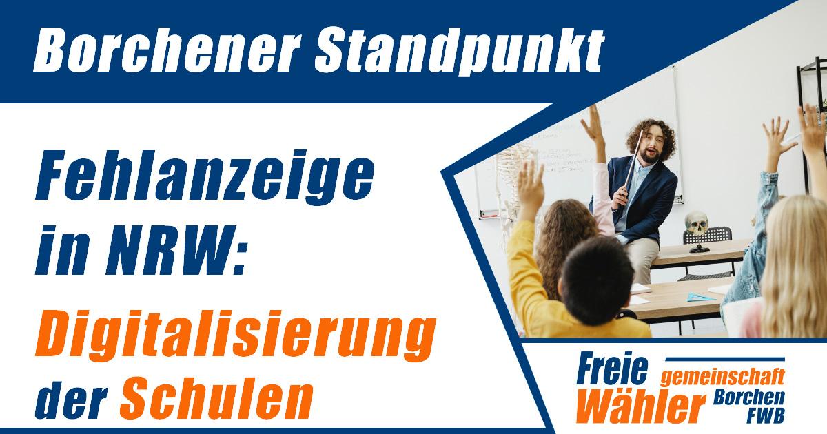 Digitalisierung der Schulen in NRW Fehlanzeige