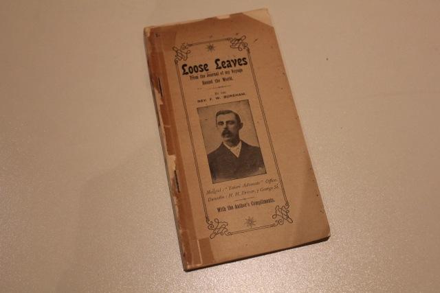 "FWB's rarest book, ""Loose Leaves"""