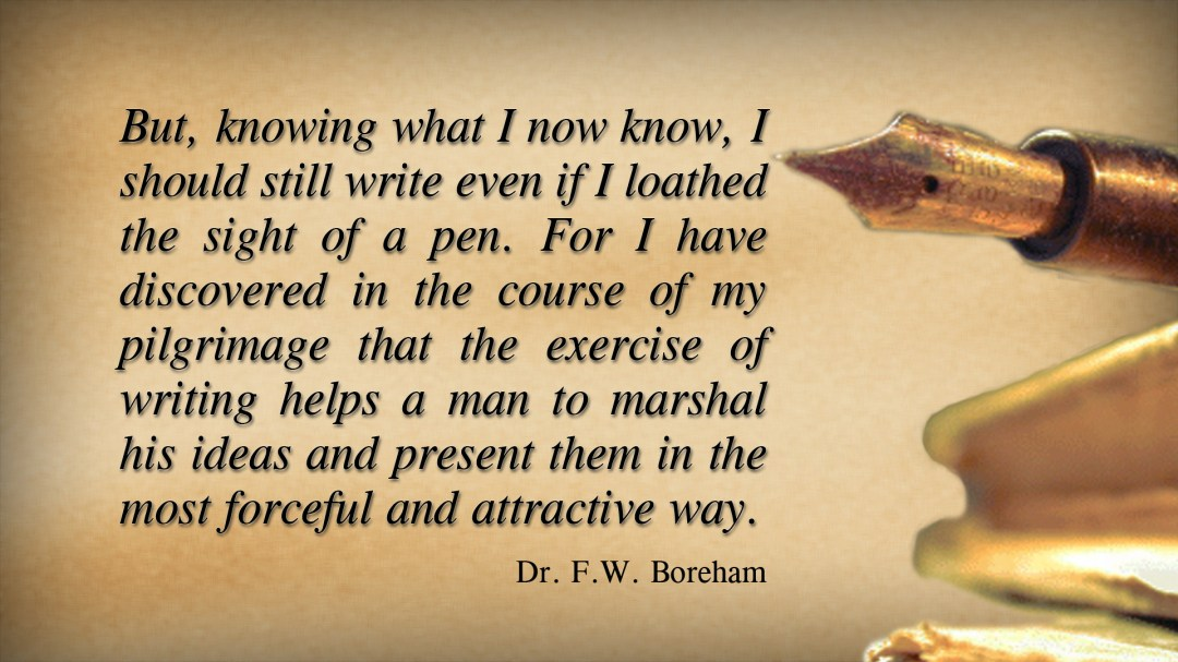 FWB on the value of the pen