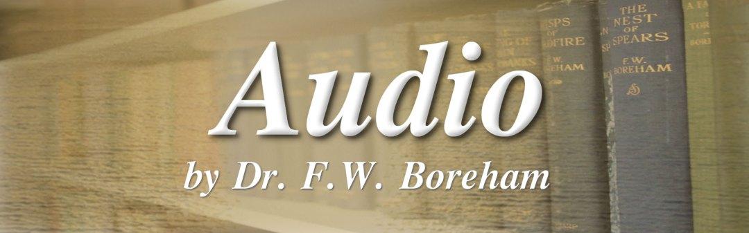 Audio messages by Dr. F. W. Boreham