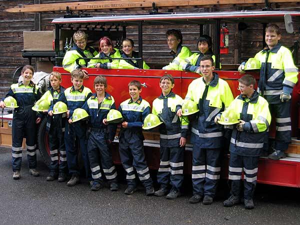 JFW Wasserschloss Kinderspiel Und Feuerwehr Familientag 2004