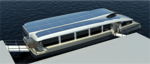 Electric Catamaran - sustainable mobility