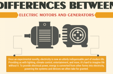 Differences Between Electric Motors and Generators