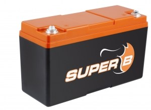 Super B Lithium batteries SB12V15P-SC