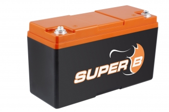 Super B Lithium batteries SB12V20P-SC