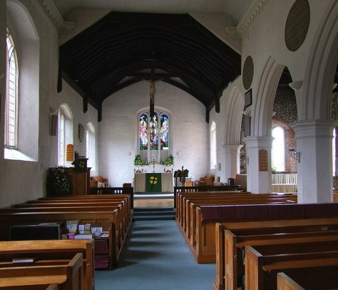 Nave and Chancel Interior