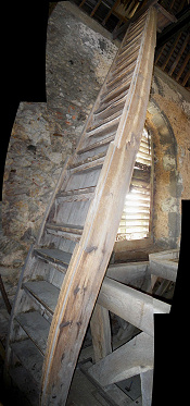 Tower Access Ladder - view 2