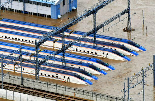 JR東幹部「(浸水した北陸新幹線は)おそらく廃車となる可能性が高い」5年で300億円以上がパーに