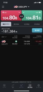 【画像】FXなんてやるんじゃなかった。ドル円107円台で捕まってしまった。