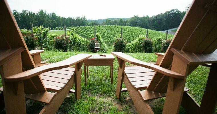 Potomac Point Winery Spring Menu