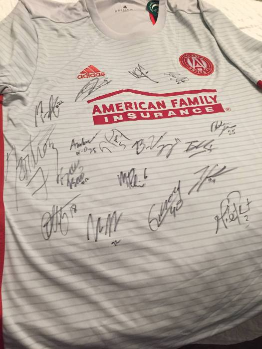 Test Shirt Signed By Team
