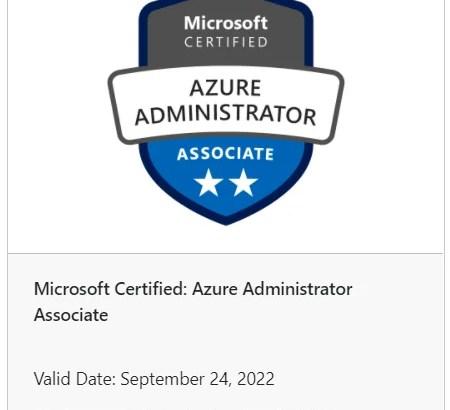[MCP] Microsoft Azure 管理者試験 AZ104にやっと合格