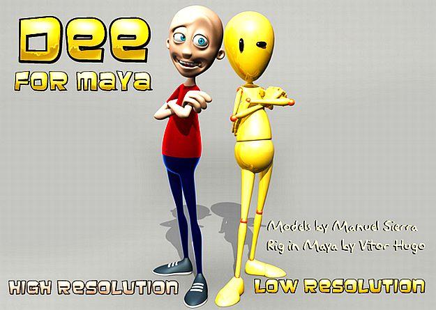 Top 5 useful human body rigs in Maya | Fxfx net ::: Digital